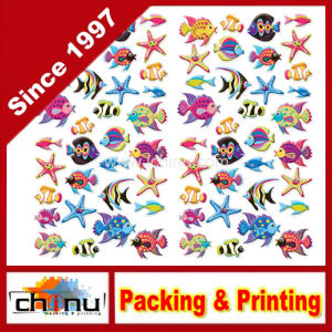 Custom Puffy Classic Stickers (440029) pictures & photos