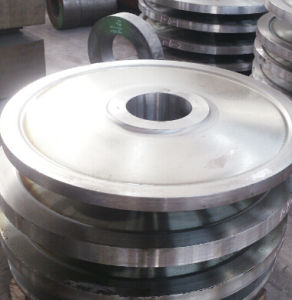 Forging 1045 Carbon Steel Slide Wheel pictures & photos