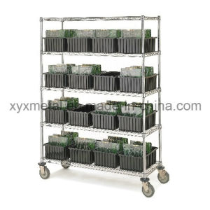 Movable Chormed Plated Display Shelf pictures & photos