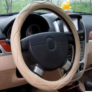 Bt 7228manufacturer Provides Straightly Microfiber leather imitation leather steering wheel covers pictures & photos