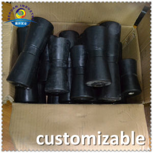 Duarable Black Rubber Boat Trailer Rollers for Thule/ Ellebi/Branderup Manufacturer pictures & photos