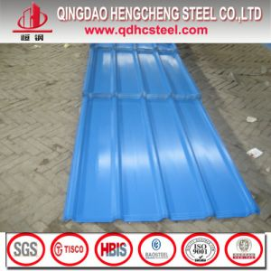 Prepainted Galvalume Corrugated Roofing Sheet pictures & photos