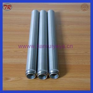 Stainless Steel Slot Screen, Wedge Wire Screen Element pictures & photos
