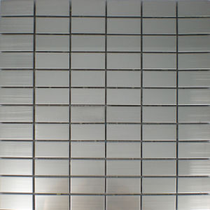 Metal Mosaic Tiles for Bathroom Floor Tiles, Stainless Steel Mosaic pictures & photos