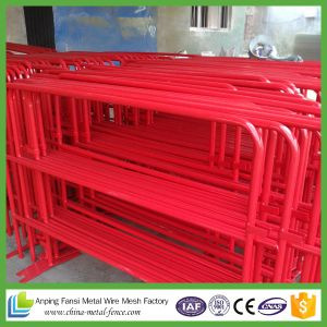High Quality Detachable Leg Metal Crowd Control Barriers (factory ISO 9001 certificate) pictures & photos