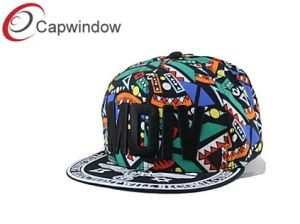 Women′s Graffiti Mdiv Snapback Hat with Allover Printing (01090) pictures & photos