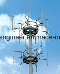 Overlap Steel Communication Monopole Tower pictures & photos