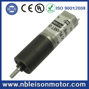 16mm 6V 12V 24V Micro DC Planetary Geared Motor for Shutters pictures & photos