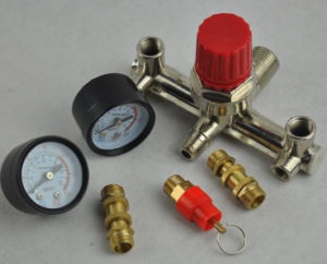 Single Phase Compressor Pressure Switch with Air Regulator & Value & Gauge pictures & photos