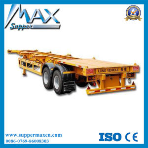 40f 2 Axle Skeletal Trailer/Semi Trailer /Vietnam Trailer pictures & photos