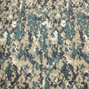Koren Army Forest Camouflage Fabric Same Design with Jung-Ki Song pictures & photos