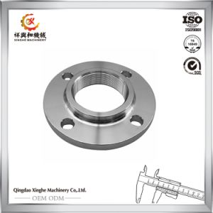 OEM 304 Stainless Steel Flange with ISO Certification pictures & photos