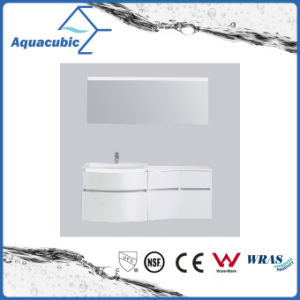 White Painting PVC Bathroom Vanity with Mirror (ACF8925) pictures & photos