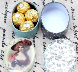 Tin Wedding Box /Candy Box/Gift Box Customzied Design Accept pictures & photos