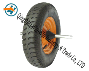 "16""X4.00-8 Pneumatic Rubber Wheel for Hand Track pictures & photos"