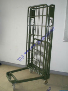 Metal Rolling Security Cage / Foldable Roll Container pictures & photos
