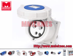 32A 2p+PE IP67 Industrial Socket (MN3332)