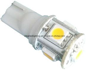 LED T10 5LED 10-30V Auto Bulb