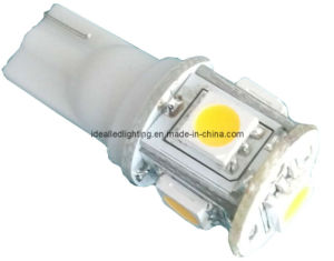 LED T10 5LED 10-30V Auto Bulb pictures & photos