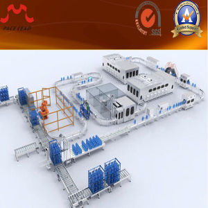 600 Bottles Per Hour for 3-5 Gallon for Bottled Water Production Line for Filling Processing Line