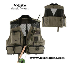 New Arrival Super Light Classic Fly Fishing Vest pictures & photos