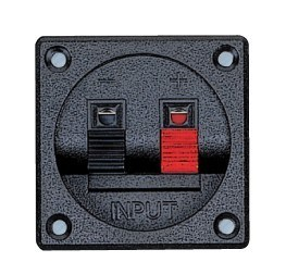 Audio Accessories Terminal Cups ABS Black (DJ-260)