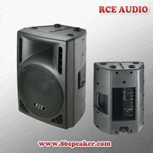 "Rce PRO Audio 12"" Active Portable PA Speaker DJ Loudspeaker Feedback Monitor"