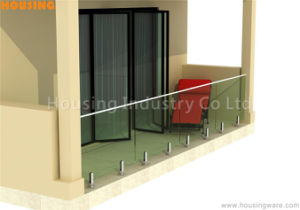 Less Expensive Frameless Glass Balustrades in Charming Design