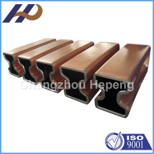 China H Type Shape Copper Mould Tube China H Types Shape