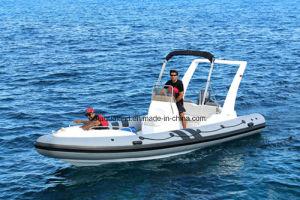 Aqualand 21feet 6.4m/ Rib Rigid Inflatable Boat /Motor Boat (RIB640C) pictures & photos