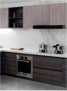 Customized & Projet Melamine Kitchen Furniture (zg-034) pictures & photos