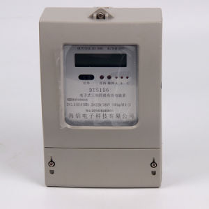 Single Phase Four Phase Electronic Energy Meter pictures & photos