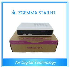Zgemma Linux Satellite Receiver DVB-C+S2 Tuner Zgemma Star H1 Satellite Receiver Media Player pictures & photos