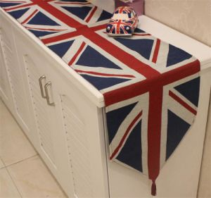 Country-Style Table Runner Decorative Cotton &Linen Table Flag (DTR-02) pictures & photos