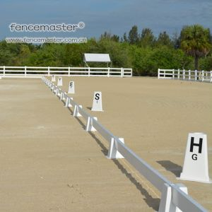 a Whole Set of Dressage Arena pictures & photos