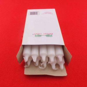 30g White Stick Household Candles for Daily Lighting