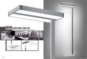 Guangzhou Uispair Modern Office 10W 32V Steel Base LED Lamp Floor Lamp pictures & photos