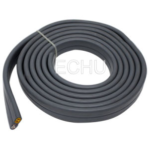 Flat Elevator Control Cable 24G0.75 with Bunch Core pictures & photos