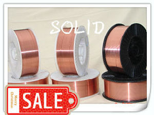 Copper Coated Mild Steel Er70s-6 CO2 MIG Welding Wire pictures & photos