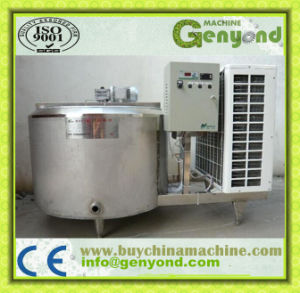 Food Grade Milk Storage Tank with Mixer pictures & photos