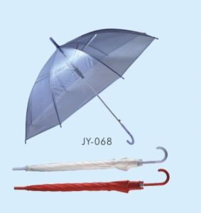 Auto Open PVC Straight Umbrella (JY-068) pictures & photos