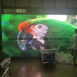China Hot Sale Indoor LED Display Advertising Screen Panel Price, P4 LED Display Indoor TV Screen Module Price pictures & photos