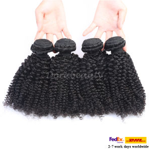 Unprocessed Jerry Curl Brazilian Human Virgin Hair Extension pictures & photos