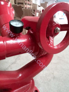 Flange Connection Fire Fighting Cannon with Big Flow pictures & photos