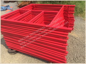 6′7′′x4′ Powder Coated Mason Scaffolding Ladder Frame pictures & photos