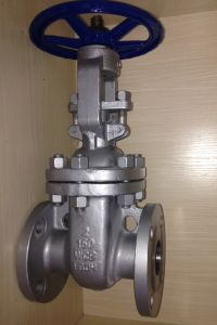 API Flanged Gate Valve 150lb (ASTM A216 WCB 150LB--900LB) pictures & photos