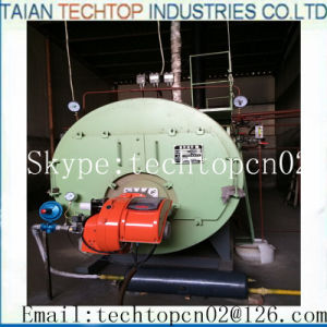 Wns Oil Gas Fired Steam Hot Water Boiler pictures & photos