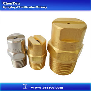 Brass Flat Fan Spray Nozzle (CC6505 2)