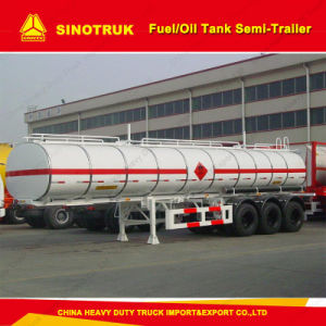 Tri-Axle Fuel Oil Tanker Semi Trailer for Sale pictures & photos