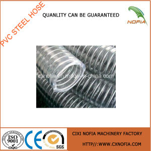 Braided Reinforced Steel Wired PVC Hose pictures & photos